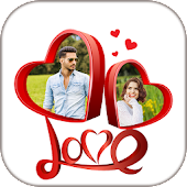 Love Collage : Photo Editor , Pic collage maker