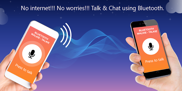 Bluetooth Walkie Talkie & Chat 1.4 Latest MOD Updated 2