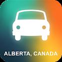 Alberta, Canada GPS Navigation icon