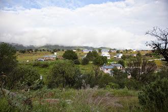 Photo: Bacaburiachi school in the distance
