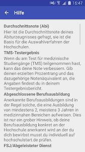 MedizinStart 2016 screenshot 3