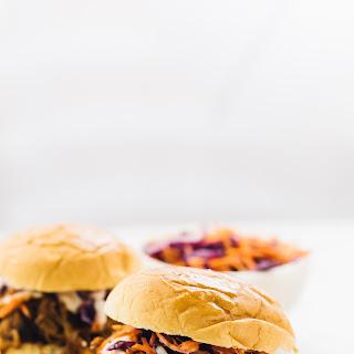 Vegan 'Pulled Pork' Sandwiches.