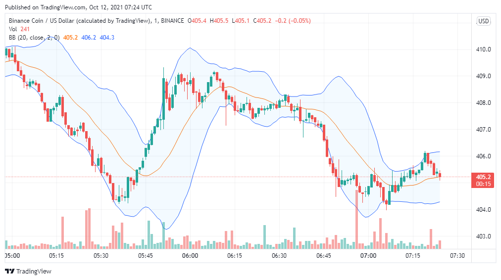 Binance Coin price analysis: BNB/USD is bearish for the next 24 hours 1