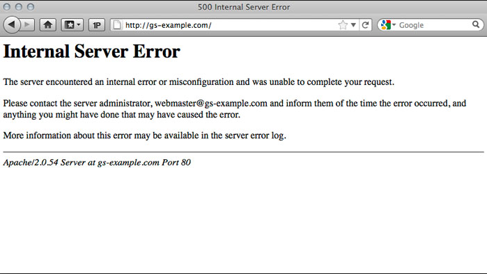 tutorial mengatasi 500 internal server error