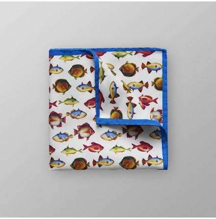 ETON bröstnäsduk med fiskprint
