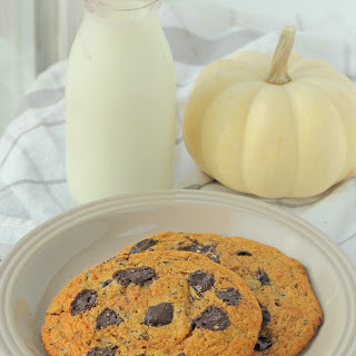 Pumpkin Chocolate Chip Cookies for Two.