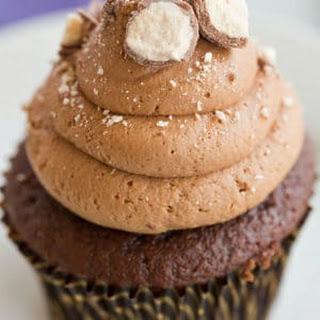 Malted Milk Chocolate Cupcakes Recipe