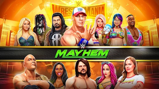 ApkMod1.Com WWE Mayhem + (Money Unlocked) for Android Action Game