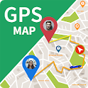GPS Map Route Traffic Navigation icon