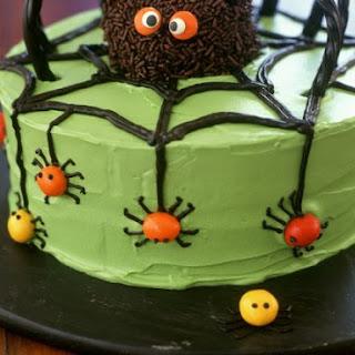 Spooky Spider Gateau