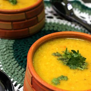 Pumpkin Lentil Soup / Kaddu Dal Shorba