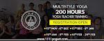 200 hour yoga teacher training in Rishikesh by 11:11 Yogart