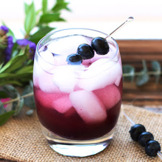 Apple Cider Vinegar Blueberry And Ginger Shrub