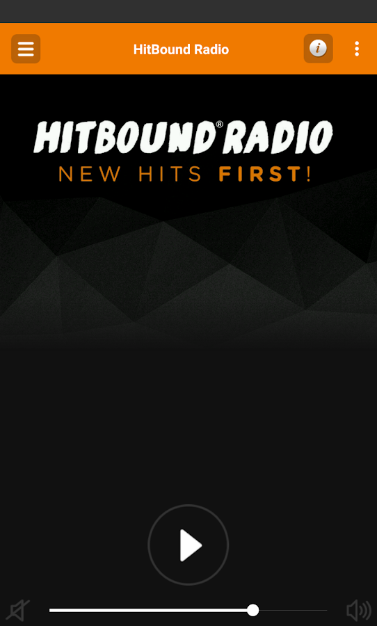 HitBound Radio- screenshot