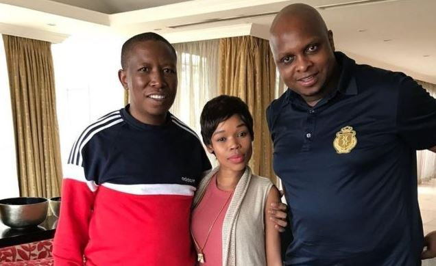 EFF leaders met with musician Fifi Cooper to help her in the battle with her former record label.