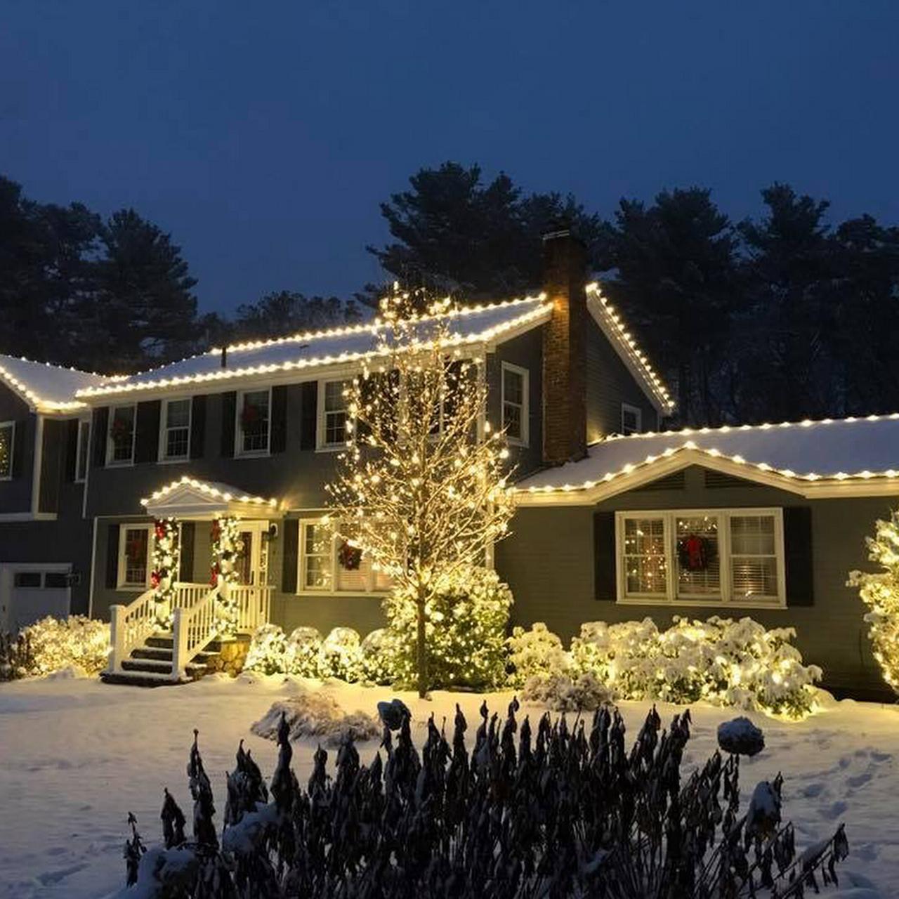 christmas lights installati