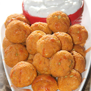 Buffalo Chicken Balls with Blue Cheese Recipe
