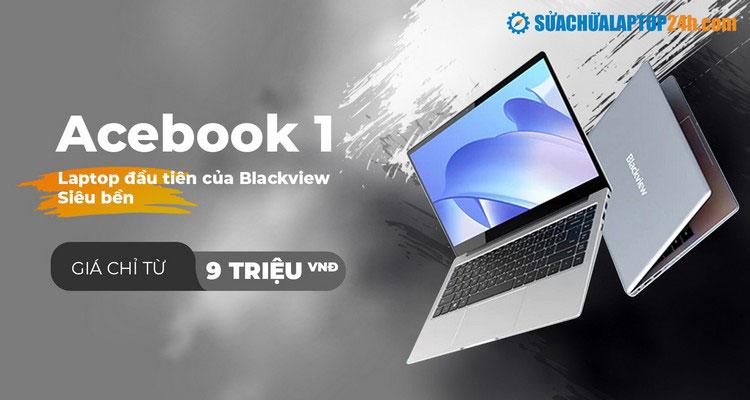 Blackview công bố laptop Acebook1 giá chỉ 9 triệu đồng