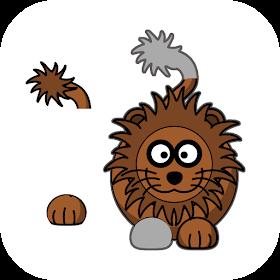 Пазл для детей: животные