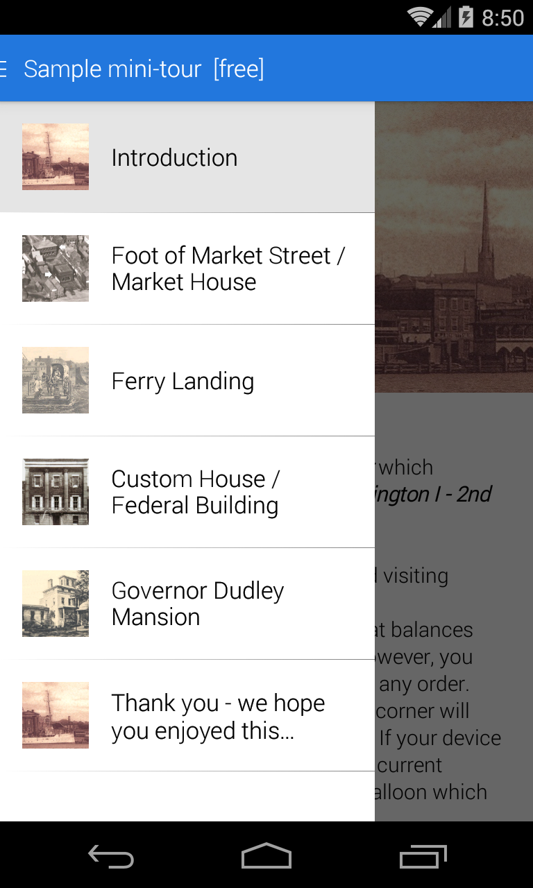 Скриншот Wilmington.tours