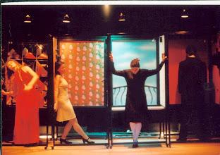 Photo: TTNTF próba spektaklu Tylko Rytm (solo compas) 2000r.