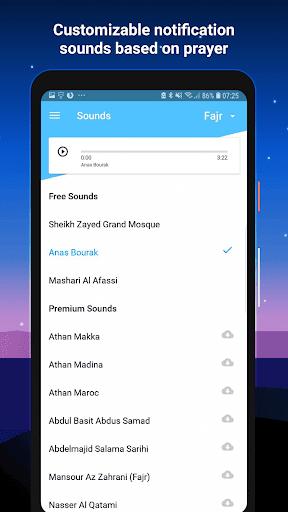 Athan Pro - Azan & Horaires de Prière & Qibla screenshot 7