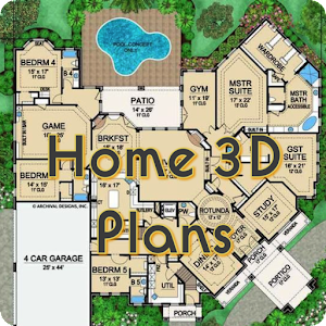 Home 3D Plans and Designs 1.2 by Naina Apps logo
