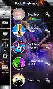 Rockové Vyzvánění - náhled
