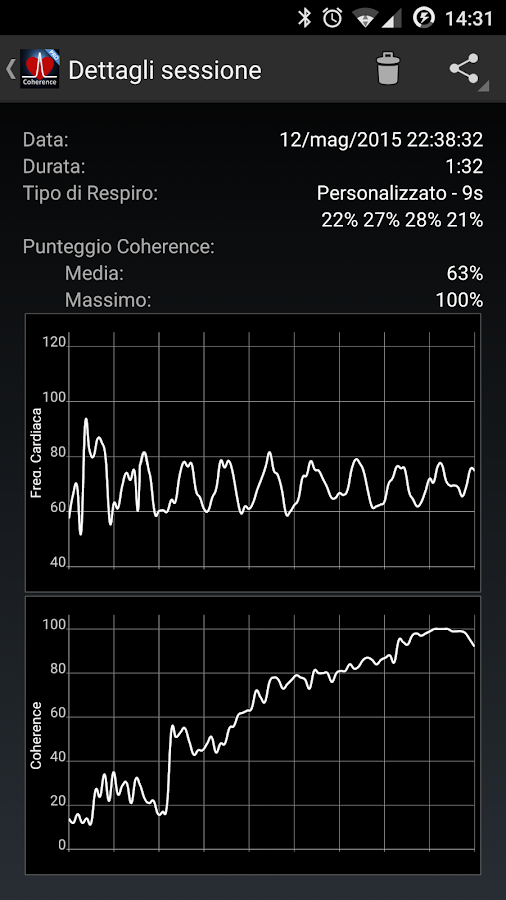 HeartRate+ Coherence PRO- screenshot