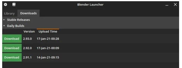 Download Latest Blender