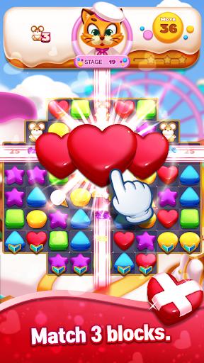 Sweet Cookie World : Match 3 Puzzle screenshots 3
