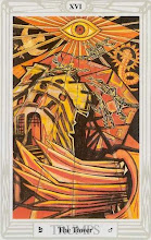 Photo: .XVI. The Tower - A Torre Thoth Tarot Crowley