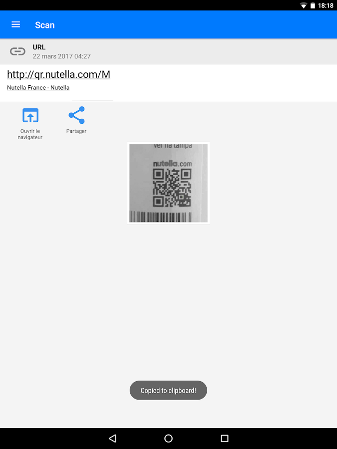 Scanner Code-barres & QR – Applications Android sur Google Play