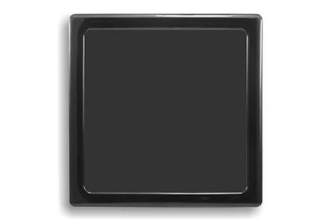 DEMCiflex magnetisk filter 140mm, firkantet, sort