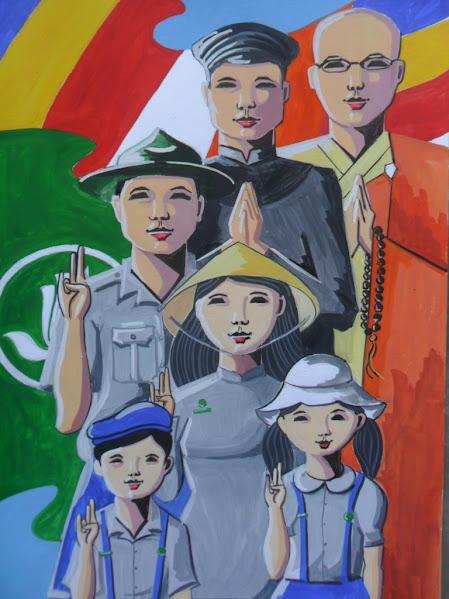 Đường Lam – Tác phẩm hướng về Hiệp Kỵ toàn quốc GĐPTVN