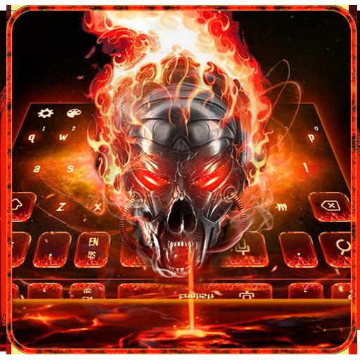 Horror skull Keyboard Theme