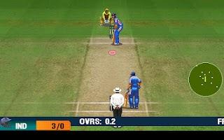 Screenshot of IND vs AUS 2012