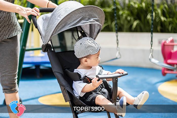 Xe đẩy cao cấp Topbi S900 6