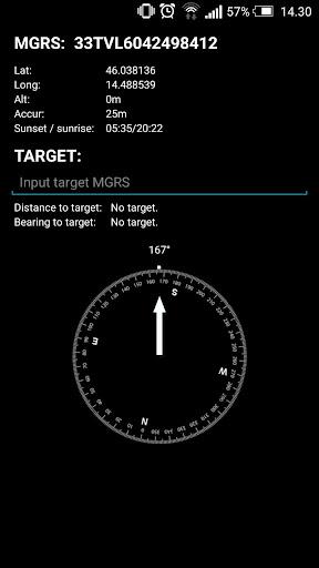 MGRS Navigation System