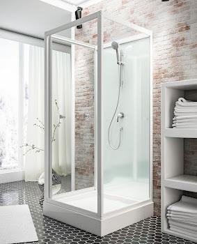 Cabine de douche intégrale Juist II 80 cm