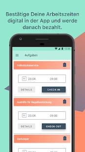 Zenjob - Studentenjobs per App - náhled