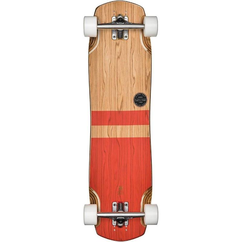 Globe - Geminon Evo 34 Olive/Red Longboard