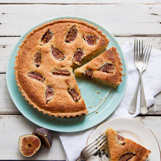 Fig + Almond Frangipane Tart.