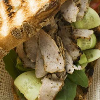 Turkey and Cucumber Grilled Sandwich