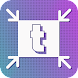 TinyPhoto:変換(JPEG PNG)、トリミング、サイズ変更