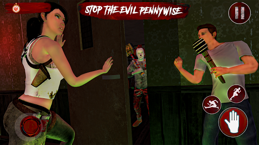 Pennywise killer clown Horror games 2020  screenshots 1