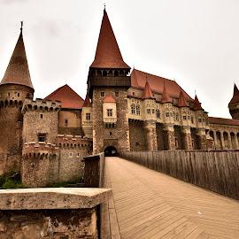 Corvin Castle  by Ioana Draghiciu - Buildings & Architecture Public & Historical ( castle, history, bridge, architecture, towers )