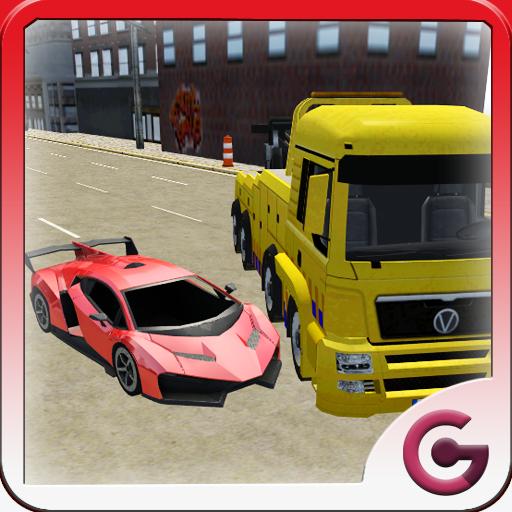 混亂賽車3D 賽車遊戲 LOGO-玩APPs