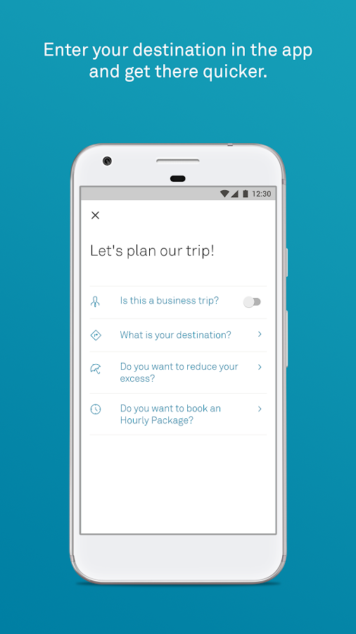 DriveNow Carsharing- screenshot