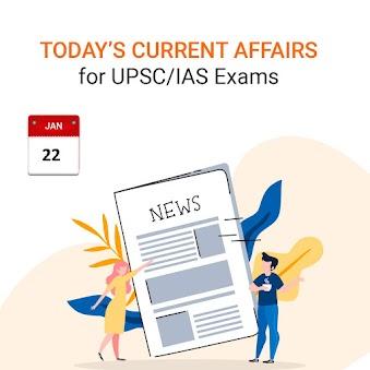 Daily Current Affairs - January 22, 2020 (The Hindu, PIB, Fact Pedia)